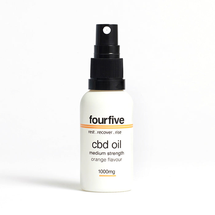 fourfivecbd 30ml Full Spectrum CBD Oil - Orange - 1000mg
