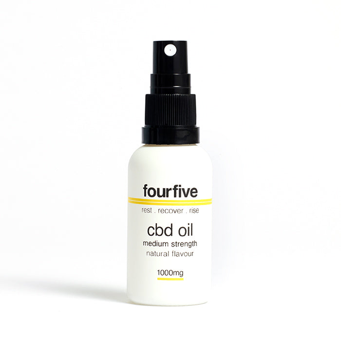 fourfivecbd 30ml Full Spectum CBD Oil - Natural - 1000mg