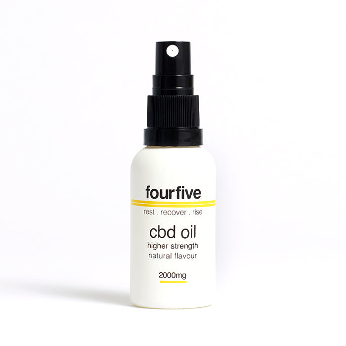 fourfivecbd 30ml Full Spectum CBD Oil - Natural - 2000mg