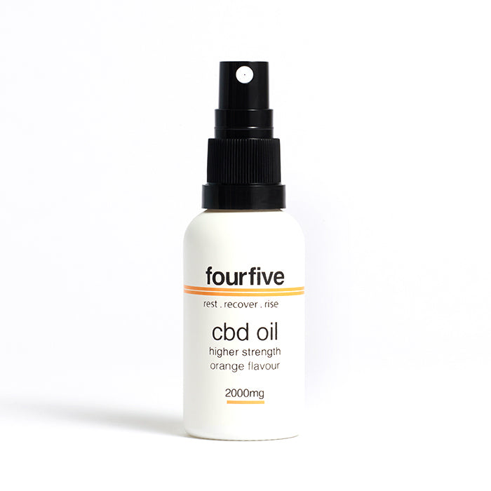 fourfivecbd 30ml Full Spectrum CBD Oil - Orange - 2000mg