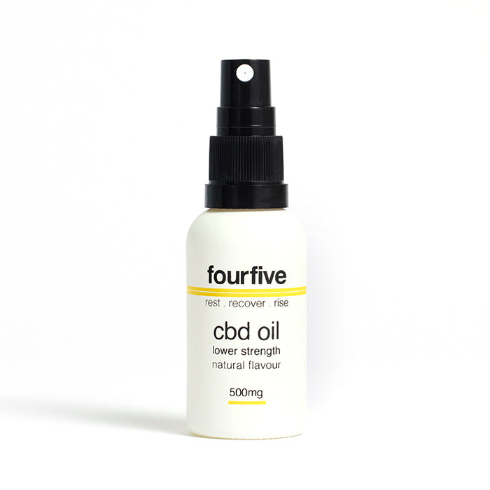 fourfivecbd 30ml Full Spectum CBD Oil - Natural - 500mg