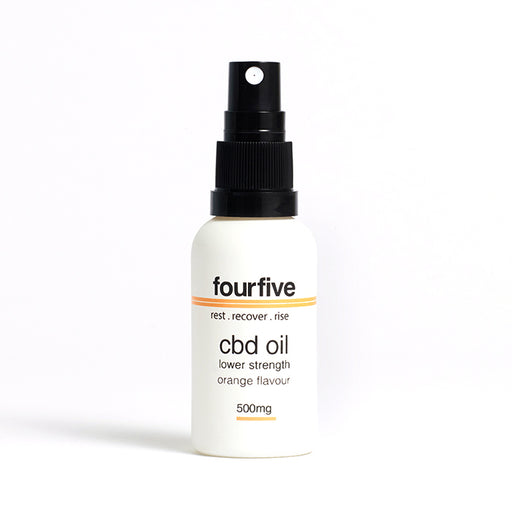 fourfivecbd 30ml Full Spectrum CBD Oil - Orange - 500mg