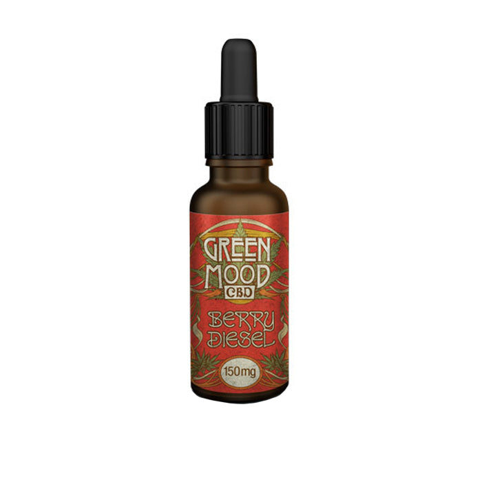Green Mood CBD - Berry Diesel 30ml CBD E-Liquid