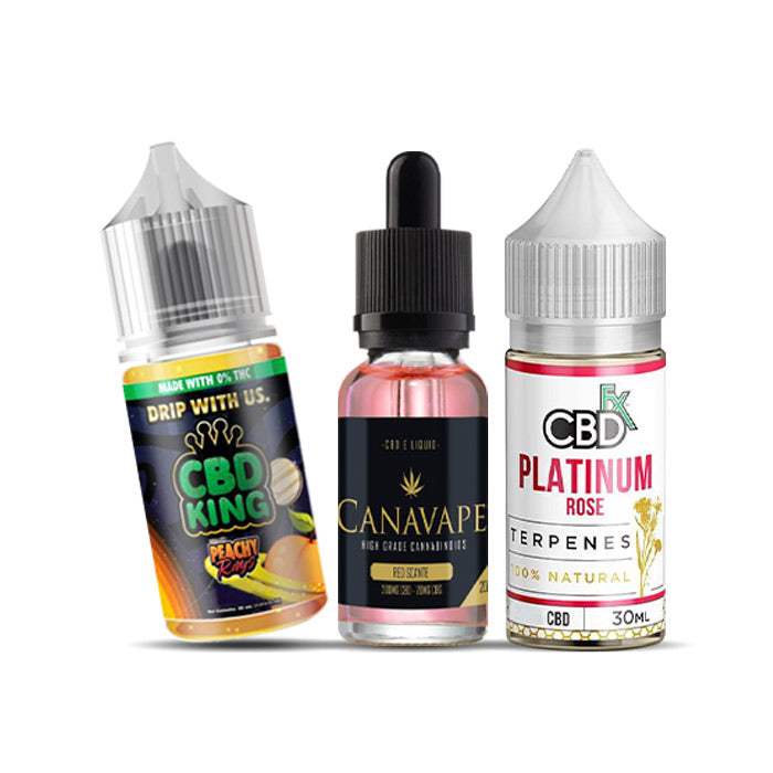 CBD 90ml E-Liquid Bundle - High