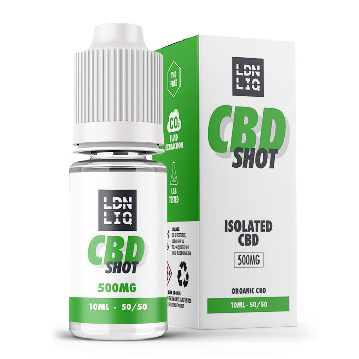 LDN LIQ Isolate 10ml CBD Shot - 500mg