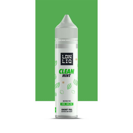 LDN LIQ Clean Mint 50ml Short Fill E-Liquid