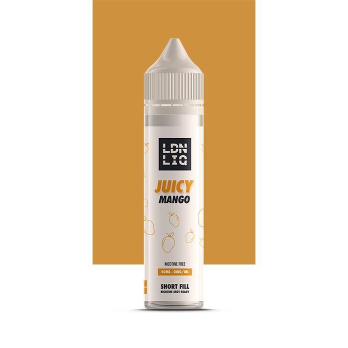 LDN LIQ Juicy Mango 50ml Short Fill E-Liquid
