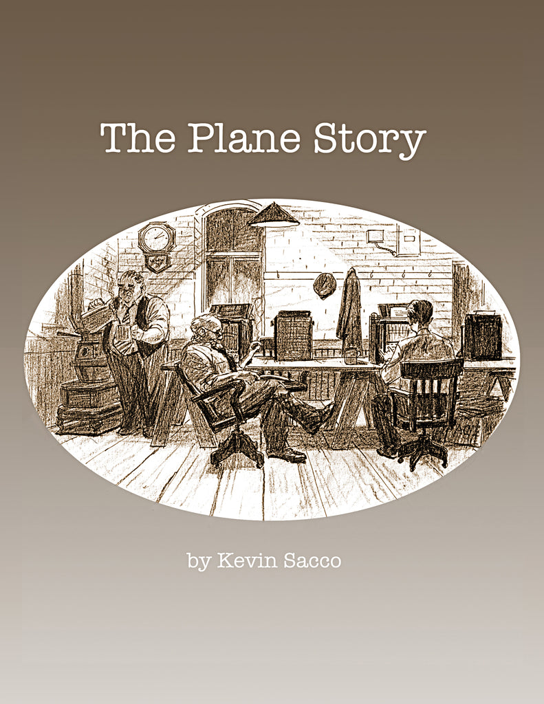 Kevin Sacco's Acclaimed Plane Story joins SLG's POD Distribution