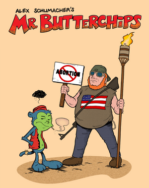Alex Shumacher's Mr Butterchips Collected Edition Joins SLG distribution.