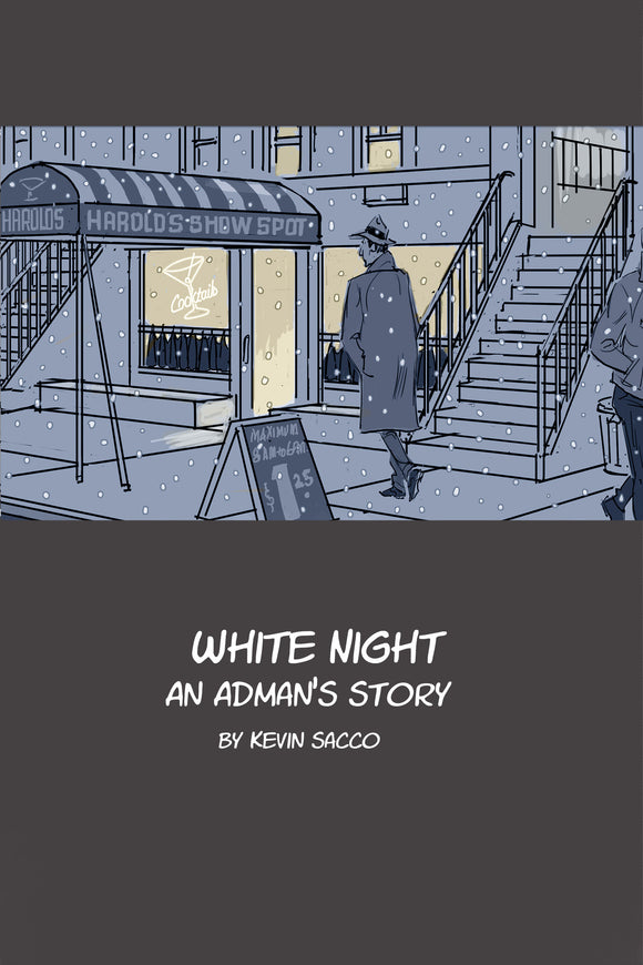 White Knight Graphic Novel Explores Advertising, Inspiration and Family 1960's Era Tale Based on a True Story