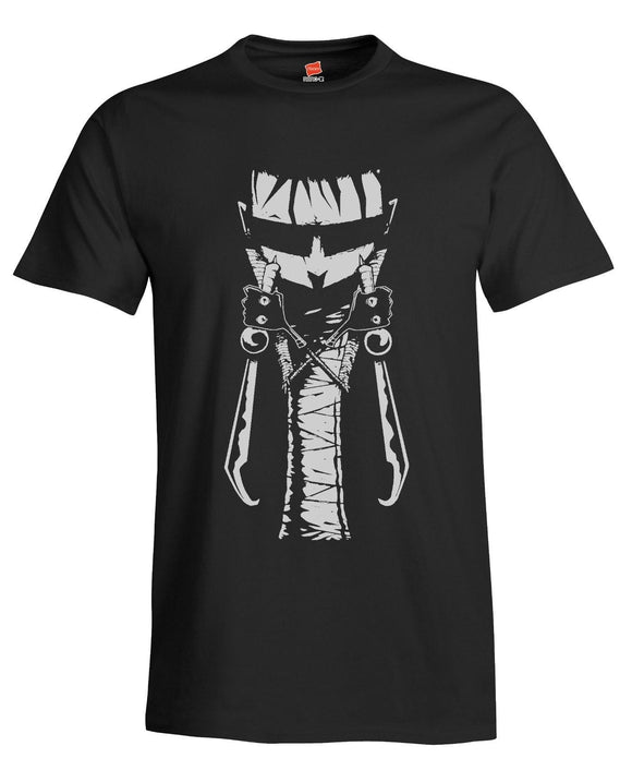 Johnny the Homicidal Maniac Men's Black Shirt Jhonen Vasquez Slave Labor Graphic