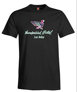Thunderbird Hotel Vintage Las Vegas Neon Sign Reproduction Ladies T-Shirt