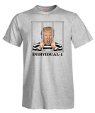 Donald Trump Individual 1 Prison Men's Prison T-Shirt