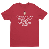 Bella Ciao Song Case Papel Money Heist Dali Mask Men's/Unisex T-Shirt