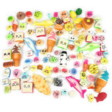 Spongy Squishies Toy 30 Pack & 1 Large Size Guaranteed - Loomance Squishies
