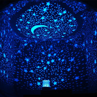 Romantic Starry Sky Star Night Light LED Lamp Projector Holiday Home Decor Christmas Gift - Loomance Squishies