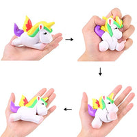 2 PCs Squishies Scented Soft Jumbo Unicorns - Loomance Squishies