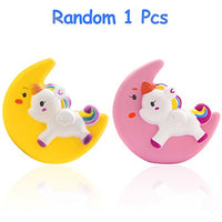 Moon Unicorn Squishy Cream Scented Squeeze Toy Yellow - Loomance Squishies