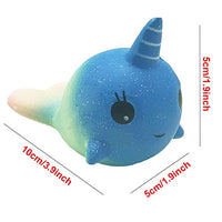 2 Pack Galaxy Whale Lemon Squishies - Loomance Squishies
