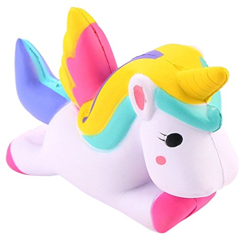 Unicorn Jumbo Slow Rising Squishy Toy - Loomance Squishies
