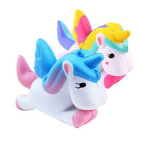2 PCS Unicorn Squishies  Charms Fun Toys - Loomance Squishies