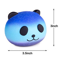 Random 3Pcs Jumbo Starry Squishy, Kawaii Cream Scented Squishy - Loomance Squishies