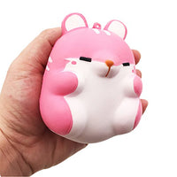 Squishy sweet Toys for kids hand wrist gift Hamster 3PC - Loomance Squishies