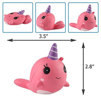 3pcs Squishy Unicorn Whale cartoon Cute Kawaii Soft Squishies Toy - Loomance Squishies