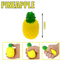 Squishies 4 PACK Fruit Prime Banana Pineapple Apple Strawberry - Loomance Squishies