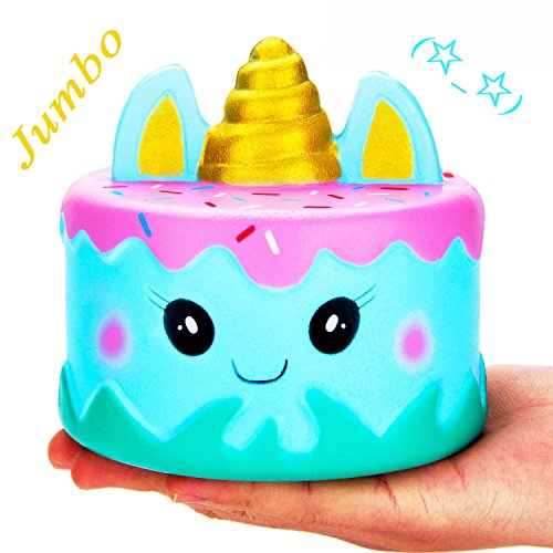 Hot Jumbo Squishy Kawaii Cute Unicorn Mousse Cream Scented Toy - Loomance Squishies