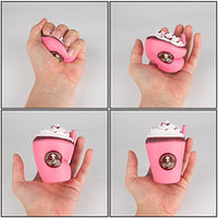 Random 2Pcs cute Squishies, Kawaii ice cream - Loomance Squishies