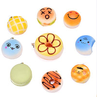 Squishy Kawaii Food Scented Squishies Key Chains-20 PCs - Loomance Squishies