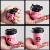Kawaii 2pcs Jumbo Squishy coffee cup - Loomance Squishies