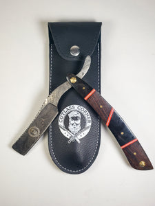 Damascus Steel Straight Razor Kit