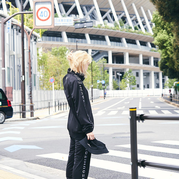 [MADE-TO-ORDER] EGUMI HEART TRACK SUIT【BLACK】