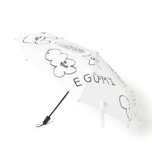 [MADE-TO-ORDER] EGUMI ALLSTARS FOLDING UMBRELLA【WHITE】