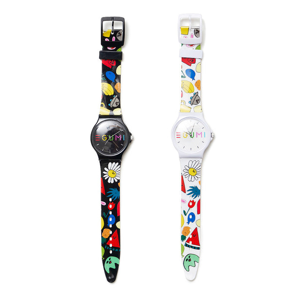 [MADE-TO-ORDER] EGUMI ALL STARS WATCH【WHITE】