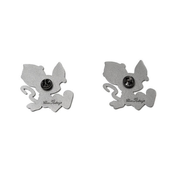 "[MADE-TO-ORDER]  tear R drop × LAM  ""TEAR RAT"" PINS SET"