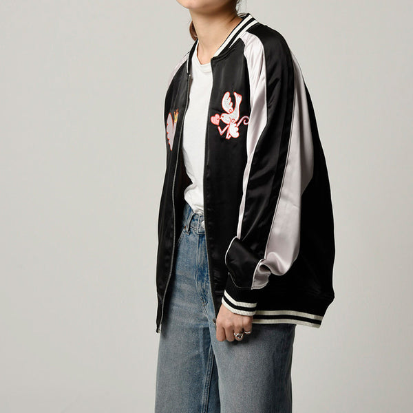 [MADE-TO-ORDER] WINGLE SOUVENIR JACKET【BLACK】
