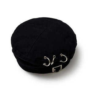 [MADE-TO-ORDER] WINGLE BERET【BLACK】