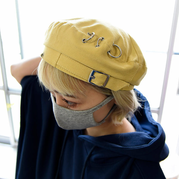 [MADE-TO-ORDER] WINGLE BERET【YELLOW】