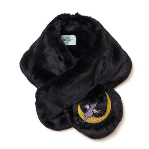 [MADE-TO-ORDER] WINGLE MOON CAT SNOOD【BLACK】