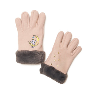 [MADE-TO-ORDER] WINGLE MOON CAT GLOVES【BEIGE】