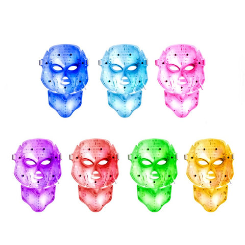 LED mask dermashine colours
