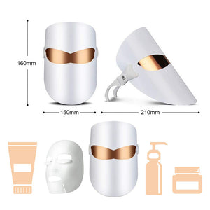 dimensions for Femvy LED facial mask