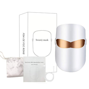 what's included in the Femvy LED facial mask package