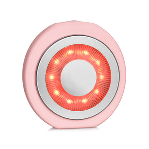 red light therapy zobelle facial cleansing brush