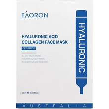 Load image into Gallery viewer, EAORON Hyaluronic Acid Collagen Face Mask Box