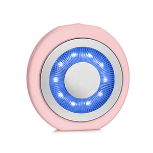 blue light therapy zobelle facial cleansing brush