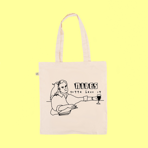 Niles Gotta Have It - Frasier fan art - Earth Positive Ethical tote.